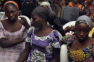 Nigerian Military Rescues 76 Schoolgirls After Alleged Bo...