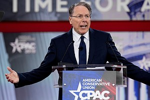 NRA Leader Warns Conservatives Of 'Socialist Wave' In Wak...