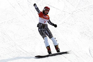 Ester Ledecka Makes History, Winning Olympic Gold In Both Snowboarding And Sk...
