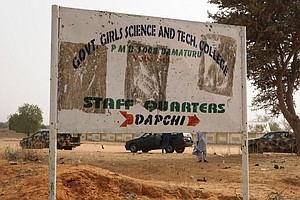110 Girls Missing In Latest Suspected Boko Haram Attack, Says Nigerian Govern...