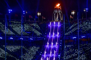 Highlights Of The Pyeongchang Olympics Closing Ceremony, ...