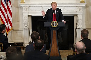 Renewing Call To Arm Teachers, Trump Tells Governors The ...