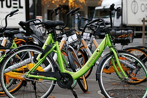 Bike-Share Firm Hits The Brakes In France After 'Mass Des...