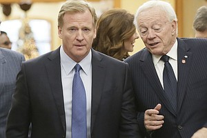 NFL To Demand Cowboys Owner Reimburse Legal Fees, Reports...