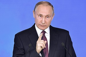 Putin Says Russia Has New Nuclear Weapons That Can't Be I...