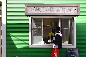 Food Stall Serves Up A Social Experiment: Charge White Cu...