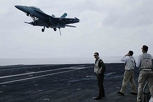 The U.S. Positions Warships In Tense Asia-Pacific Waters