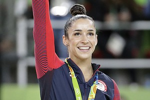 Aly Raisman Sues USOC And USA Gymnastics, Alleges They Hi...