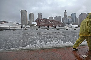 New Report Predicts Rising Tides, More Flooding