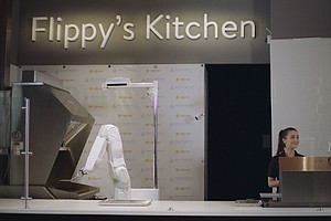 'Flippy' The Fast Food Robot (Sort Of) Mans The Grill At ...