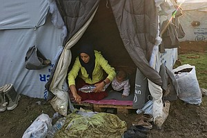 'Europe Does Not See Us As Human': Stranded Refugees Stru...