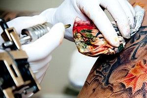 Tattoo You: Immune System Cells Help Keep Ink In Its Place