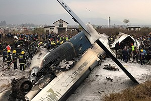 Passenger Plane Crashes At Nepal Airport; Dozens Of Injur...