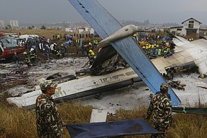 Pilot Of Plane That Crashed In Nepal Reportedly Was Confu...