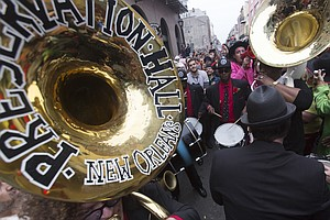 Case Closed: Preservation Hall's Missing Sousaphone Is Re...