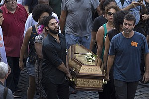 Brazilians Protest After Black Human Rights Activist Is M...