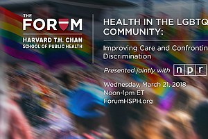 Forum: How Discrimination Damages Health In LGBTQ Communi...