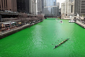 U.S. Cities Awash In Green To Celebrate St. Patrick's Day