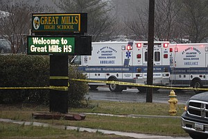 Shooting At Maryland High School Injures Two Students; Gu...