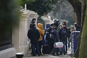 23 Russian Diplomats Fly Home, Expelled From U.K. Amid Po...