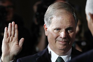 'Seize This Moment': Doug Jones Tackles Gun Control In Fi...