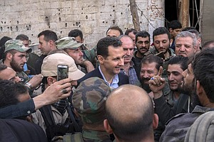 How The Syrian Regime Keeps Winning Territory, From An Ar...