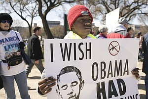 PHOTOS: Students Make Their Stand At D.C.'s 'March For Ou...