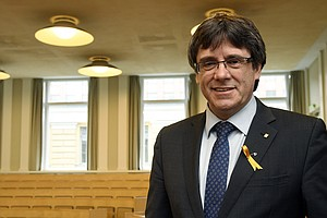 Ex-Catalan Leader Puigdemont Detained In Germany As Prote...