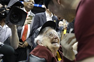 Sister Jean, Breakout March Madness Star, Celebrated By Her Fellow Nuns