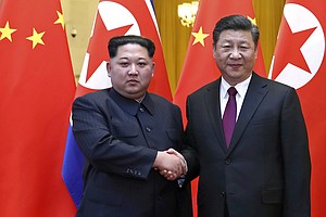 On Trip To China, North Korea's Leader Says Denuclearizat...