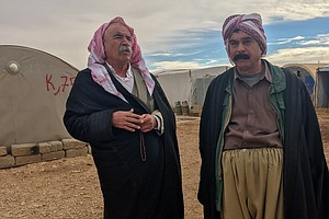 Yazidis Remain In Fear On Iraq's Mount Sinjar After Attem...