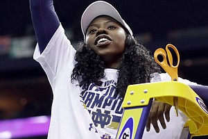 Notre Dame Crowned Women's Basketball Champs After Buzzer...