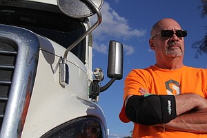 A Career Trucker Helps To Steer The Path For Self-Driving...