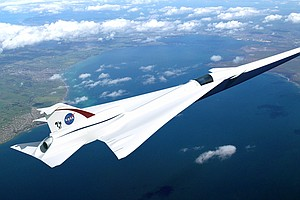 NASA Hopes Supersonic X Plane Will Deliver Less Bang For ...