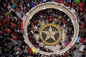 Teachers Protest; Discipline Disparities Persist; Trans S...
