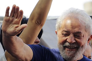 Lula Da Silva, Brazil's Beloved Ex-President, Surrenders ...