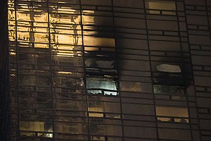 1 Man Killed In Apartment Fire At Trump Tower In New York...