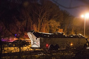 Bus Carrying Teens In Long Island Strikes Overpass, Causi...