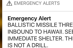 FCC On Hawaii's Bogus Alert: Don't Say 'This Is Not A Dri...