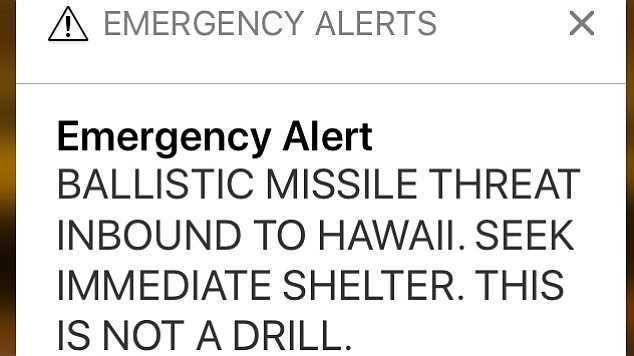 FCC On Hawaii's Bogus Alert: Don't Say 'This Is Not A Drill