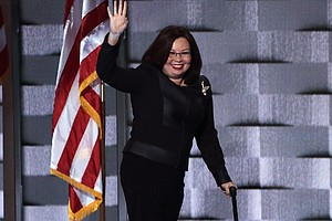 Make Room For Baby: After Giving Birth, Duckworth Presses...