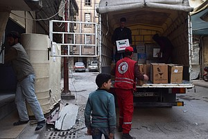 Syria Systematically Harasses Medical Aid Convoys