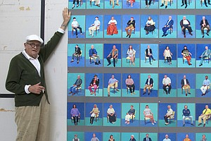 What's It Like To Pose For David Hockney? We Asked The People In His Portraits