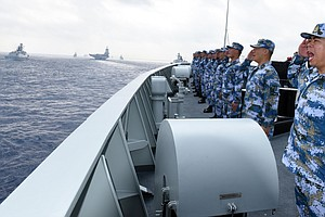China Plans Live-Fire Exercises In Taiwan Strait, As Xi R...