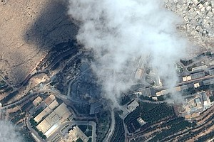 PHOTOS: 2 Syrian Chemical Weapons Sites Before And After Missile Strikes