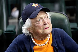 Former First Lady Barbara Bush In Failing Health, Not See...