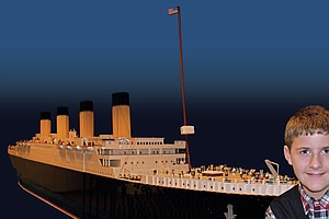 Builder Of World's Largest Titanic Replica In Lego Says H...