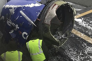 1 Person Dies After Southwest Jet With Engine Trouble Mak...