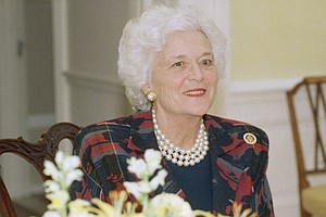 Barbara Bush On Meeting George, Motherhood And Her Signat...