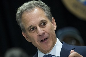 N.Y. Attorney General, Invoking Trump, Calls For Albany T...